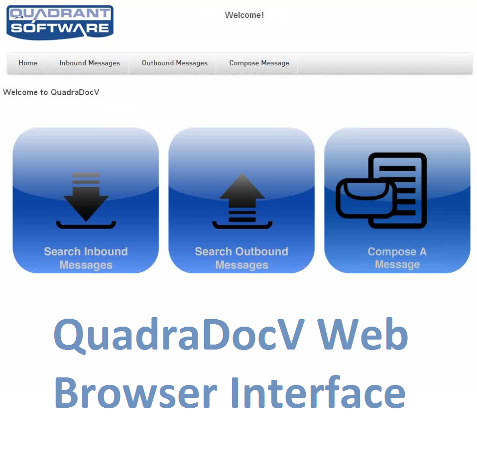 QDV virtual fax server broswer interface